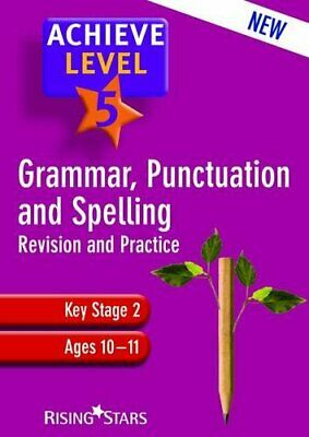 Achieve Grammar, Punctuation and Spelling: Level 5 by Louise Moore Book The