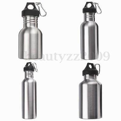 350~2000MLStainless Steel Water Drink Bottle Cycling Jogging Durable Hydration