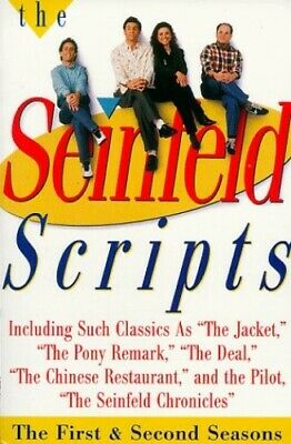 The Seinfeld Scripts by David, Larry Paperback Book The Cheap Fast Free Post