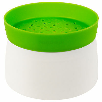 Lékué Microwave Rice & Grain Cooker Silicone Plastic Steamer Serving Dish Bowl