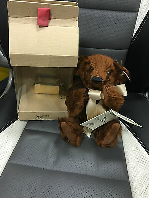 Steiff Teddy Bär 651885 Mr. Chocolate 25 Cm ((( Top Zustand )))