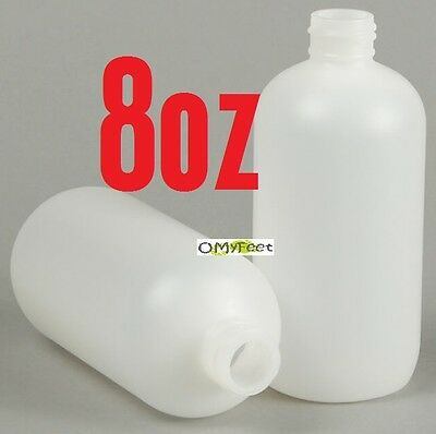 10X 24-410 8 oz Natural Clear Bottle for BARGE CEMENT GLUE