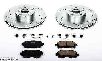 Autospecialty KOE448 1-Click OE Replacement Brake Kit Power Stop