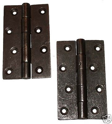 "A Pair Of 4"" x 2-1/2"" Butt Hinges in Cast Iron (200 - 4"")"