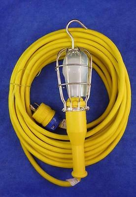 ERICSON 700 SER #7 Handle Industrial Duty Incandescent Hand Lamp Approx 50' Cord