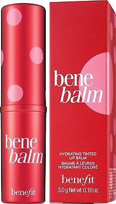 Benefit BENEBALM Lipbalm Rose Pink Tinted Sheer Bene Lip Balm 3g FULL SIZE