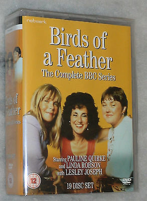 Birds of a Feather: The Complete Series (1,2,3,4,5,6,7,8,9) DVD Box Set- SEALED