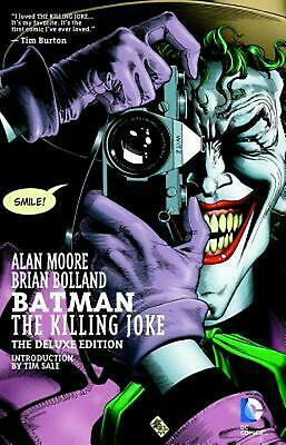 Batman: The Killing Joke by Alan Moore (English) Hardcover Book Free Shipping!