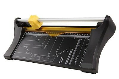 10 Sheet Precision Photo Rotary Paper Cutter Trimmer Arts Crafts Card Office A4