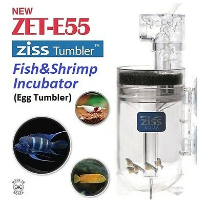 2016 New ZET-E55 Ziss Fish Egg & Shrimp Tumbler Incubator