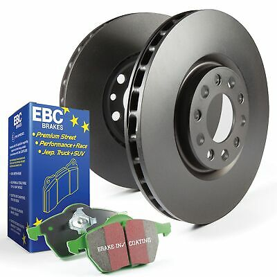 EBC Front Brake Discs and Greenstuff Pads Kit For Mazda Mx5 Mk2 NB 1.6 / 1.8 16v