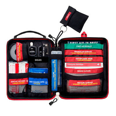 Branded New Emergency First Aid Kit Survival Gear Medical Trauma Kit