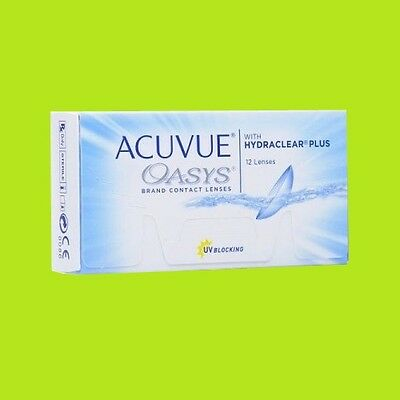 Acuvue Oasys Hydraclear plus (1x12pk lenses / BC 8.4;8.8)