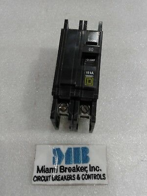 QOU260 Square D Circuit Breaker 2 Pole 60 Amp 120/240V (New In Box)
