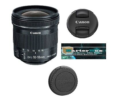 New Year Deal Sale Canon Ef-s 9519B002 10-18mm F/4.5-5.6 Stm Is lens
