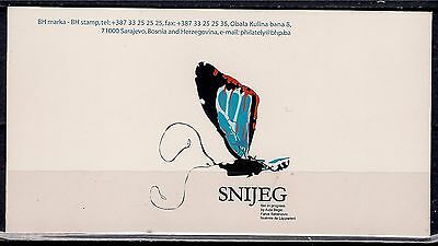 Bosnia Herzegovina 2003 Europa Poster Art Butterflies Insects MNH Booklet