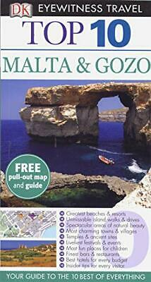 DK Eyewitness Top 10 Travel Guide: Malta & Gozo by Gallagher, Mary-Ann Book The