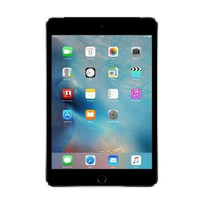 Apple iPad mini 4 128GB Space Gray 4G LTE Cellular Tablet *NEU* MK762FD/A (div)