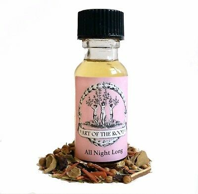 All Night Long Oil Love Lust Passion Seduction Hoodoo Voodoo Wicca Pagan Conjure