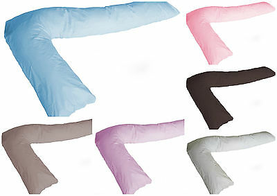 Love2Sleep EGYPTIAN COTTON SPARE L PILLOW COVER PILLOWCASE L SHAPED