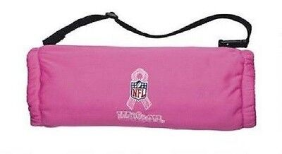 New Wilson NFL Football Hand Warmer Pink w/ Breast Cancer Logo Youth or Adult