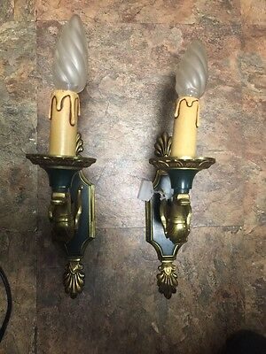 Antique Vintage Duck Wall Lamp Light Scones