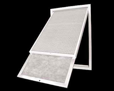Ducted Heating & Air Conditioner Filter Material Media Replacement (Grey Colour)
