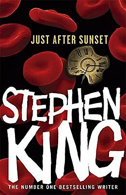 Just After Sunset, King, Stephen Hardback Book The Cheap Fast Free Post