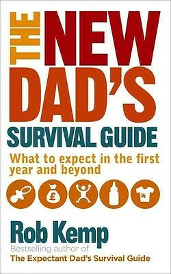 The New Dad's Survival Guide by Rob Kemp Paperback Book (English)