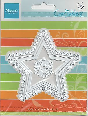 Marianne Design CRAFTABLES Cutting & Embossing Die STARS CR1226 REDUCED