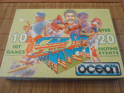 Sinclair ZX Spectrum  Game Set and Match 10 Hit Games over 20 exciting events