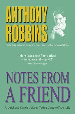 Notes From A Friend: A Quick and Simple Guide to T... by Robbins, Tony Paperback