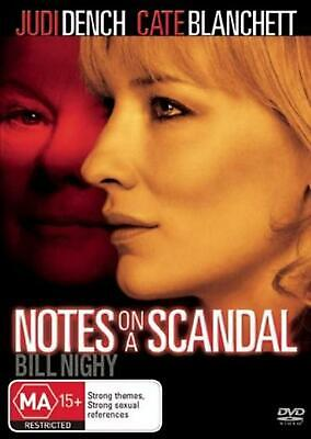 Notes On A Scandal - DVD Region 4 Free Shipping!