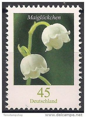 Germany 2010 Lily of the valley Flowers Nature Definitives 1v MNH