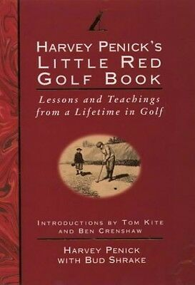 Little Red Golf Book: Lessons and Teachings from a Life..., Shrake, Bud Hardback
