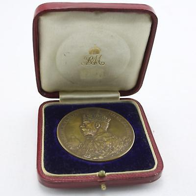 Commemorative Bronze Medal 1911 George V Coronation