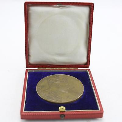 Commemorative Bronze Medal 1902 Edward VII Coronation