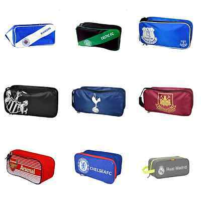 Official Licensed Football Club Shoe Boot Bag - Great For School PE Or Matches