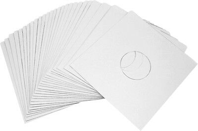 """(25) 10"""" White Paper INNER SLEEVES 16# Covers Vinyl Record EP 78rpm New #10IW"""