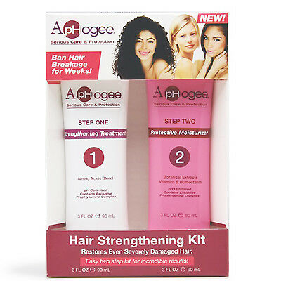 ApHogee Hair Strengthening Kit strengthening treatment & protective moisturizer