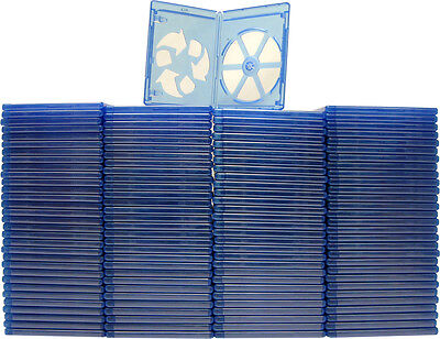 (120) 1 Disc Blu-Ray Standard Empty Replacement Boxes Cases 12mm #BRBR12BL-ECO