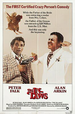 The In-Laws 1979 U.S. One Sheet Poster
