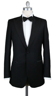 New $6000 Brioni Black Wool Tuxedo - (QUIRINALE09K5481102L)