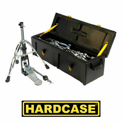 Hardcase 40 Inch Drum Stands Hardware Case with Wheels HC40W