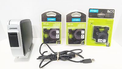 Dymo LabelManager PnP Labeler w/ 3 New Cartridges