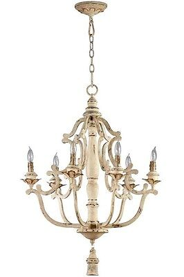 Aidan Gray Look Iron Antique Gold French Maison Cyan Designs Chandelier $615