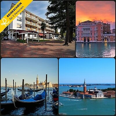 3 Day 2P BED & BREAKFAST 4 Hotel Venice Treviso Italy Short travel Voucher