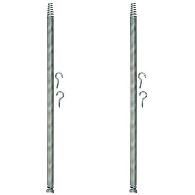 Lot of 2 PikAnut Wood Screen Door Spring with Hooks 0509