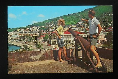 1960s Sexual Innuendo The Waterfront Young Couple Cannon Charlotte Amalie VI PC