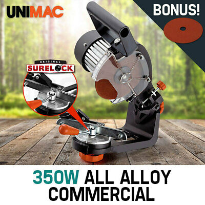 NEW 350W Chainsaw Sharpener UNIMAC Chain Saw Electric Grinder File Pro Tool